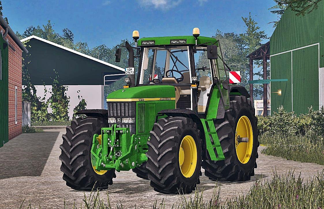 Seat Skins For Trucks >> John Deere 7810 FH Washable v3 » GamesMods.net - FS17, CNC, FS15, ETS 2 mods