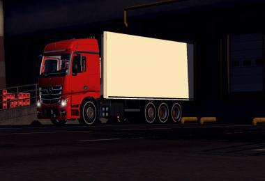 MERCEDES ACTROS MP4 TRUCK 1.25
