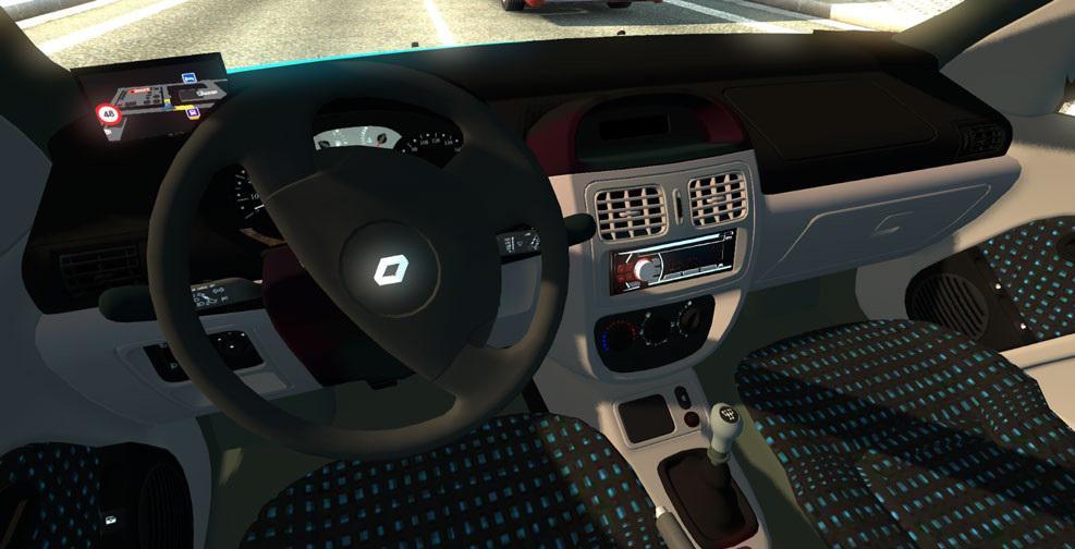 Renault Clio 187 Gamesmods Net Fs17 Cnc Fs15 Ets 2 Mods