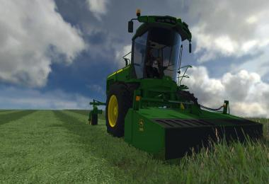 JOHN DEERE W260 WITH 995 ROTARY CUTTER V1
