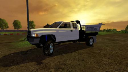DODGE SECOND GEN 2500 SRW FLATBED V1