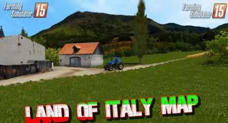 Land of Italy Map  v1.5