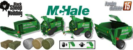 Pack Straw Blower McHale c360, C460 V 1.0