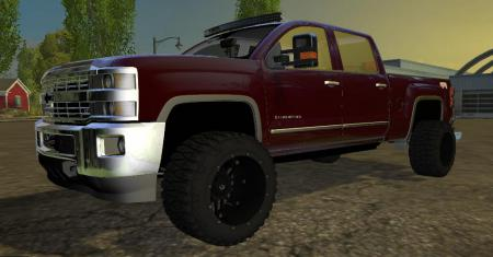 Old Chevy Truck >> CHEVY 2500HD V3 » GamesMods.net - FS19, FS17, ETS 2 mods