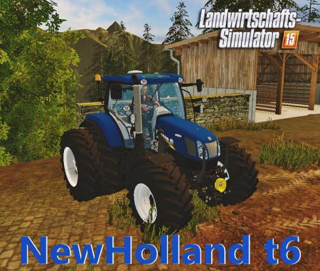 NewHolland t6 bluepower