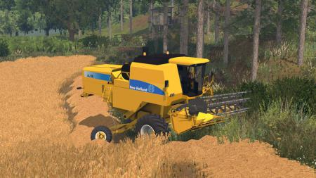 New Holland AL Pack - Autoleveling Combines V 1.0
