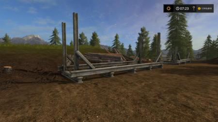 PLACEABLE LUMBERYARD SET LS17 V1