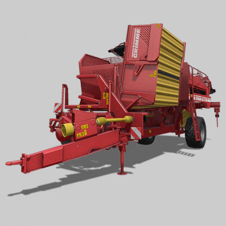 Grimme SE260 with Halum Separation