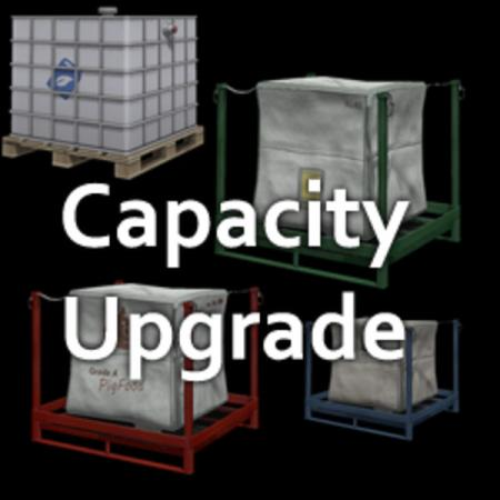 PALLET CAPACITY UPGRADE