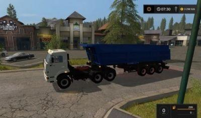 KAMAZ 65116 with trailer SCHMITZ V 1.0