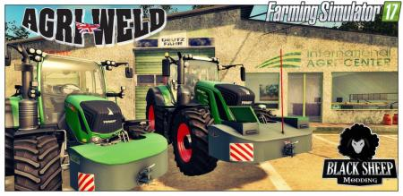 Pack 2 Front weight AGRI-WELD with Fuel V 1.0.1 Fix