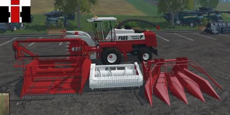 IH Forage harvester
