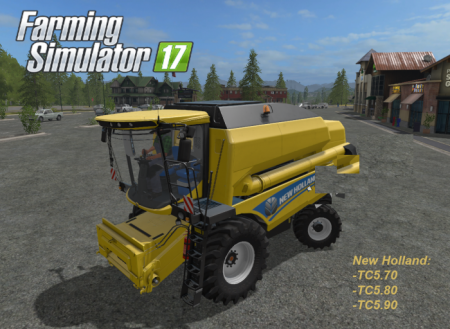 New Holland TC pack