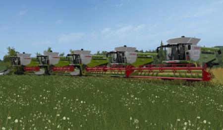 CLAAS lesxion 780 + v660 v750 v900 v1050