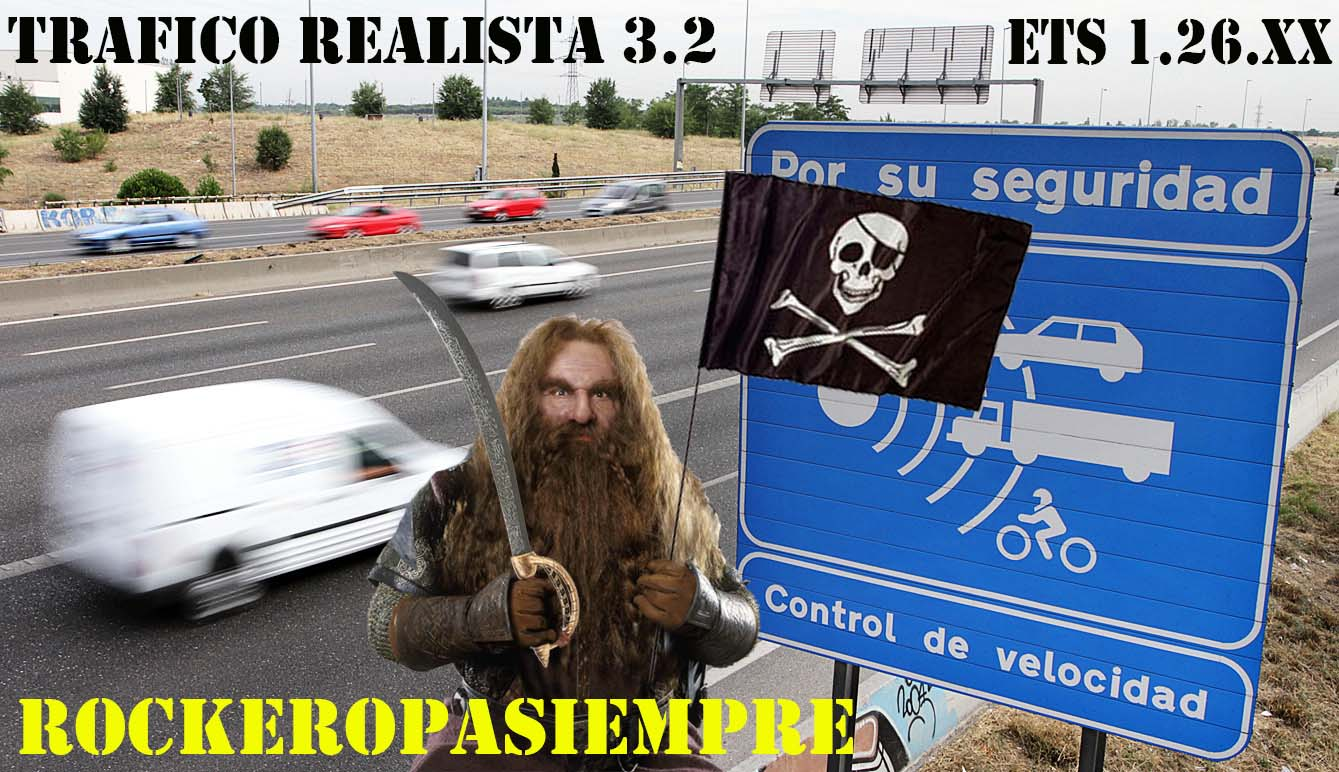 Realistic traffic 3 2 » GamesMods net - FS19, FS17, ETS 2 mods
