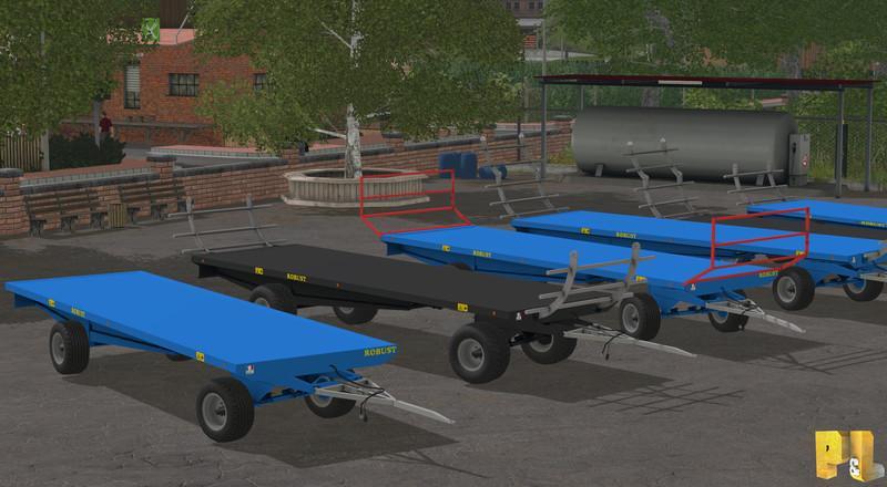 Robust Baletrailer pack AutoLoading V 1 » GamesMods net