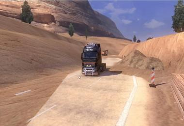 MMG MAP ETS2 EXTREME ROAD MAP