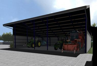 how to download sheds in fs17
