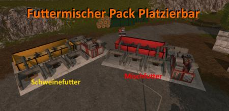 Feed Mixer Pack Placeable V 1.0.0.0