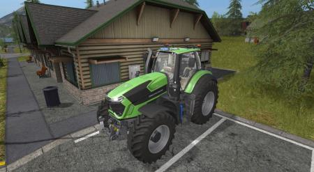 Deutz Fahr Series 9 V 1.5 Winter Edition