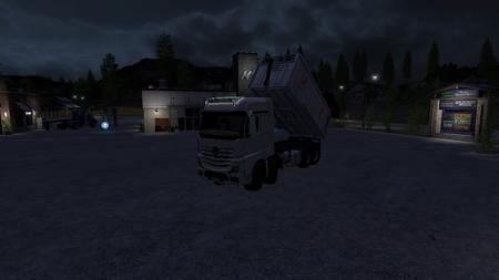 Mercedes Benz Actros MP4 8x8 swap sys ... V 1.0