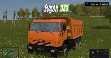 Kamaz 65115 + 5 types of wheel v 3.2 final