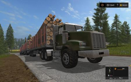 LIZARD LOG TRUCK NOKIAN TIRES V1.1