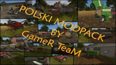 FS 17 | POLSKI MODPACK BY GAMER TEAM