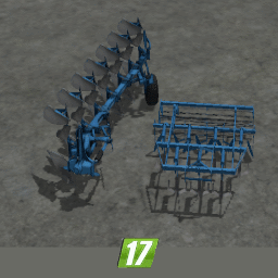 Lemken Kristal 9 and Juwel 8