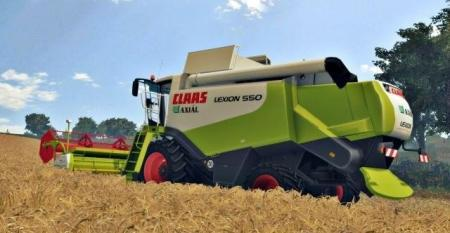 CLAAS LEXION 550 EDIT KUSZ