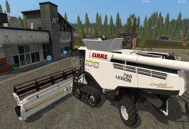 CLAAS LEXION 780 LIMITED EDITION SET V1.0