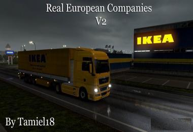 REAL EUROPEAN COMPANIES (BY TAMIEL18) V2.2