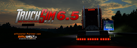 TruckSim Map 6.5