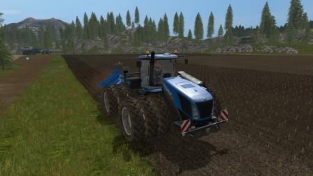 New hollan T9 mit drillingsbereifung V 1.2.0 MULTICOLOR