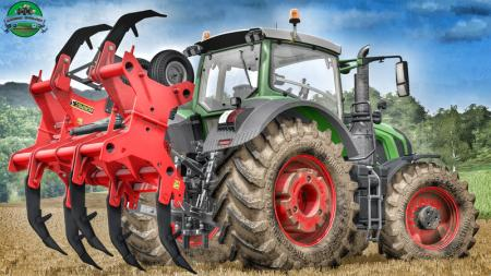 Agrimec3 ASD7 Ripper V 1.0 Plough