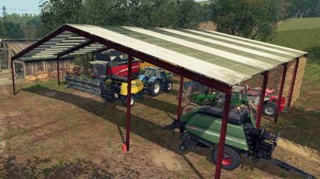 Vehicle shelter Metal Beiser v1.0.1