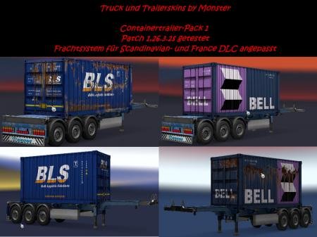 Container-Trailer-Pack 1 V all DLC