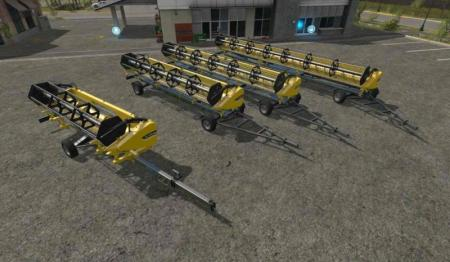 CUTTER TRAILERS WITH ATTACHER