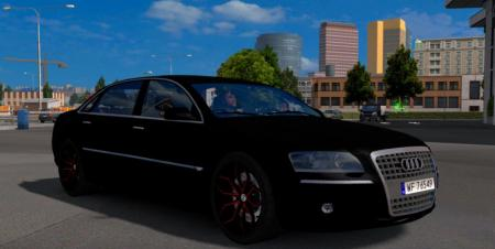 Audi A8 By Diablo Upgrade + Template