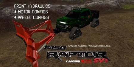 RAPTOR SVT HYDRAULIC CRAWLER KRYPTEK BY LAMBO V1.1