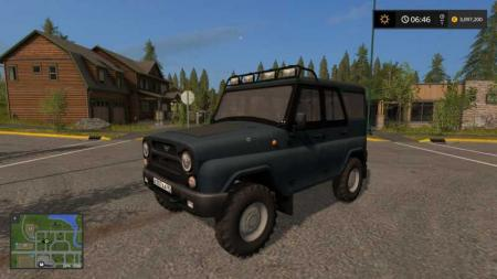 UAZ HUNTER FARMING SIMULATOR 17 V1.0