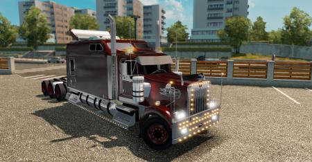 Kenworth W900 Long Remix Fixes & addons tuning