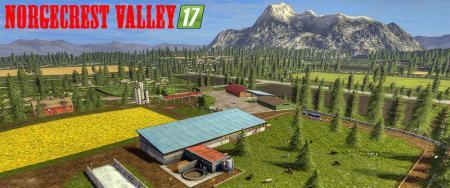 NorgeCrest Valley 17 V 1.7 ChoppedStraw & animierte Tiertränken
