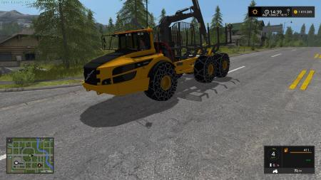 VOLVO A40G FORWARDER V1.0