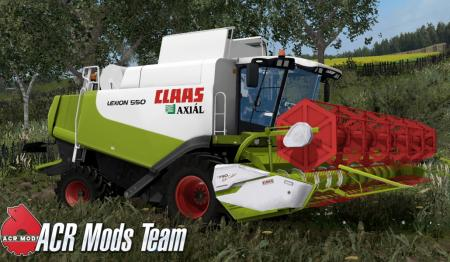 Claas Lexion 550 v1.0