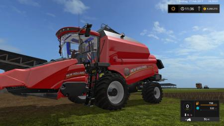 New_Holland_TC5_by_Thunder01 V 1.0
