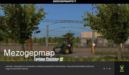 Mezőgép map Fs17