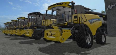 New Holland CR PACK edit by didek V 1.2