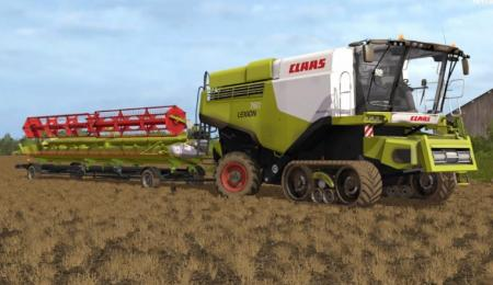 Claas Lexion 700 Stage IV Pack V 1.3