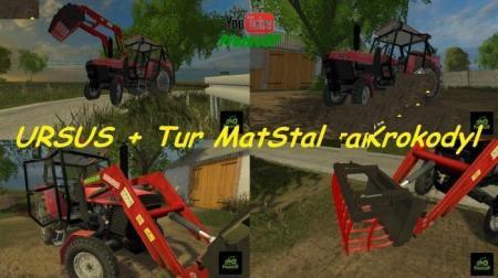 URSUS 902 turem MatStal 4B and Crocodile